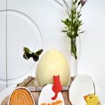 Huevo de Pascua de chocolate (paso a paso)