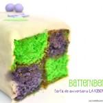 Battenberg Cake. Receta. 2º aniversario de mi clínica LA RIBERA VETERINARIS