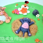 Tarta gatos en el parque…el reto con Dulce Suspiro Castellón