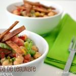 Ensalada de legumbre sabor tex-mex