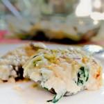 Pesto de espinacas y nueces reto recetas sanas - Berenjenas rellenas de bacalao ...