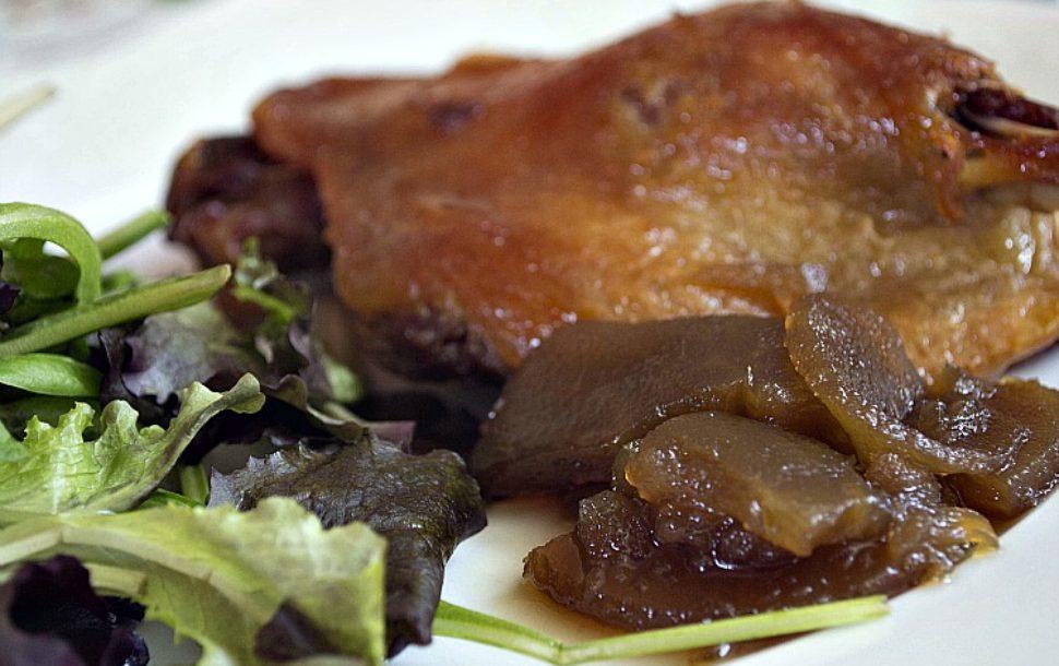 Recetas De Cocina Confit De Pato | Receta De Confit De Pato Con Manzana