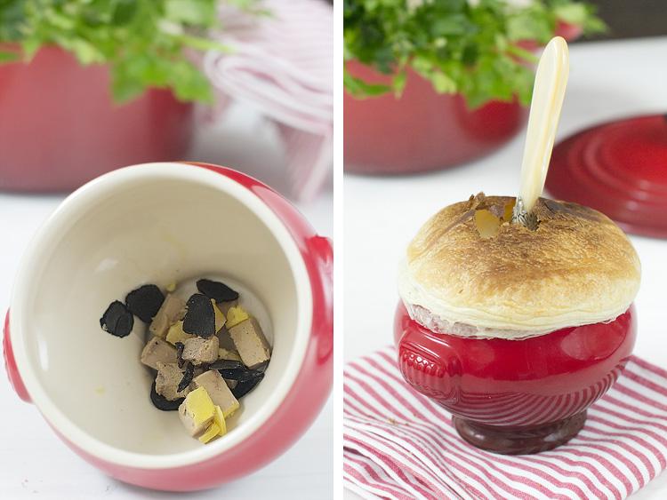 soupe aux truffes 4 Soupe aux truffes noires Élyssé V.G.E. Receta