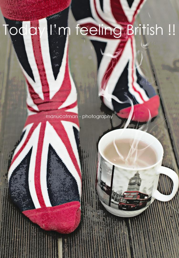 I'm feeling british