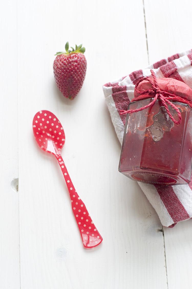 mermelada de fresas sin azucar