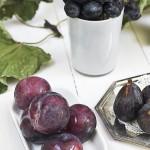 Tarta de frutas de final de verano y romero