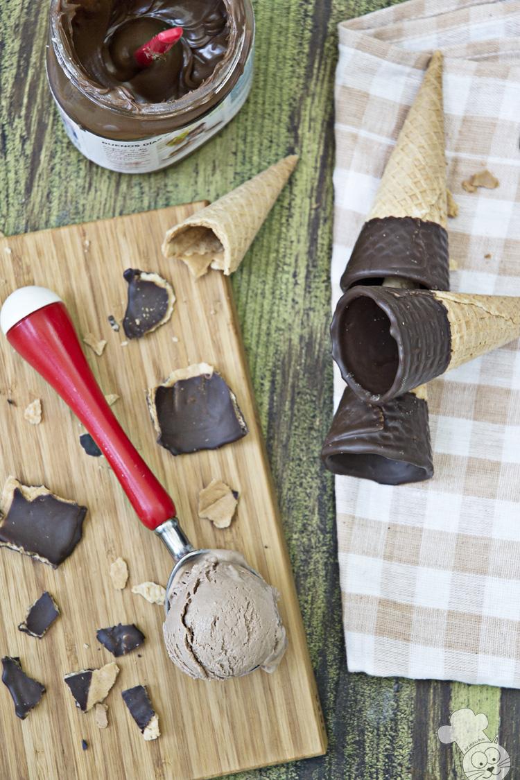 helado de queso y nutella zenital