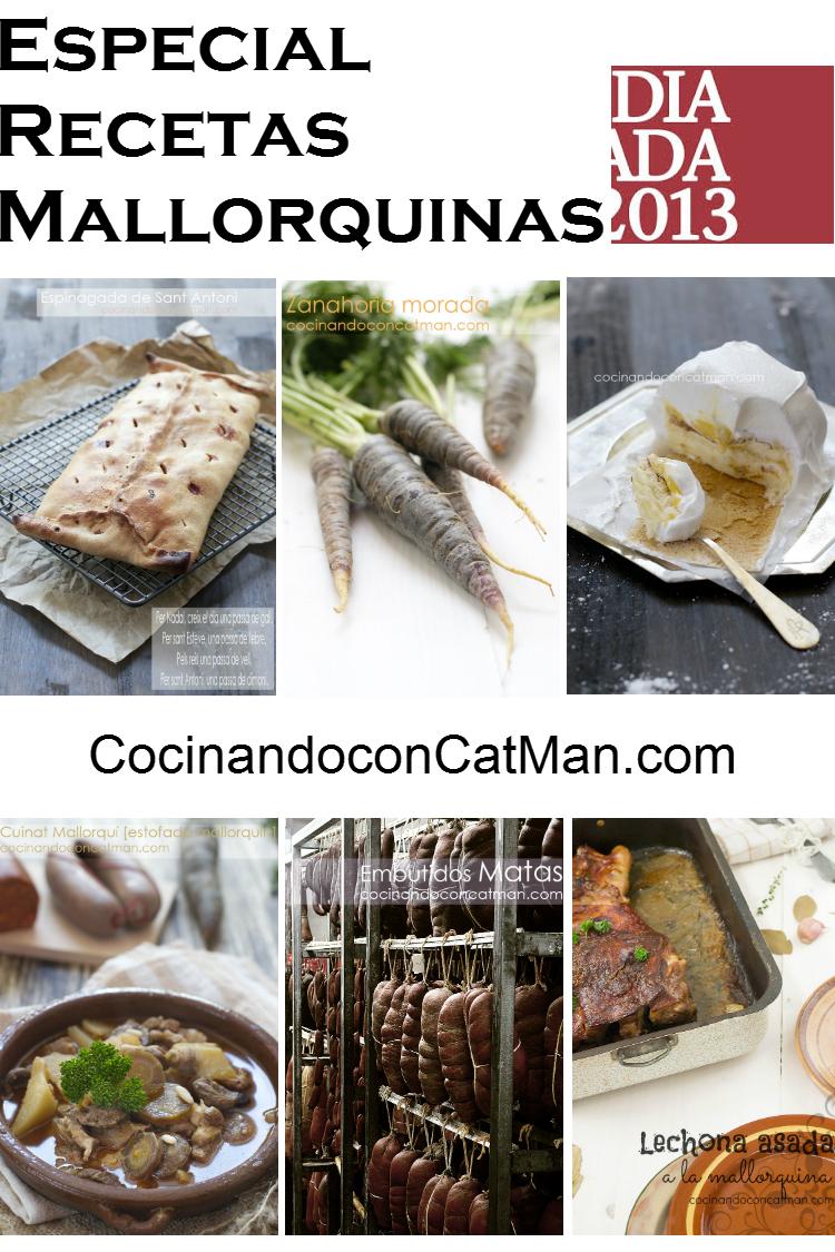 recetas mallorquinas