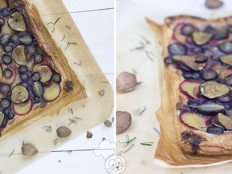 tarta de uvas y romero