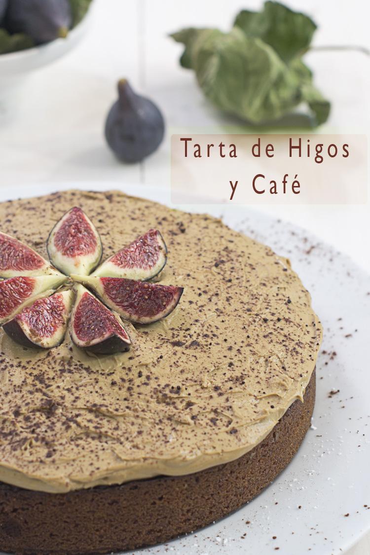 Tarta de higos y cafe
