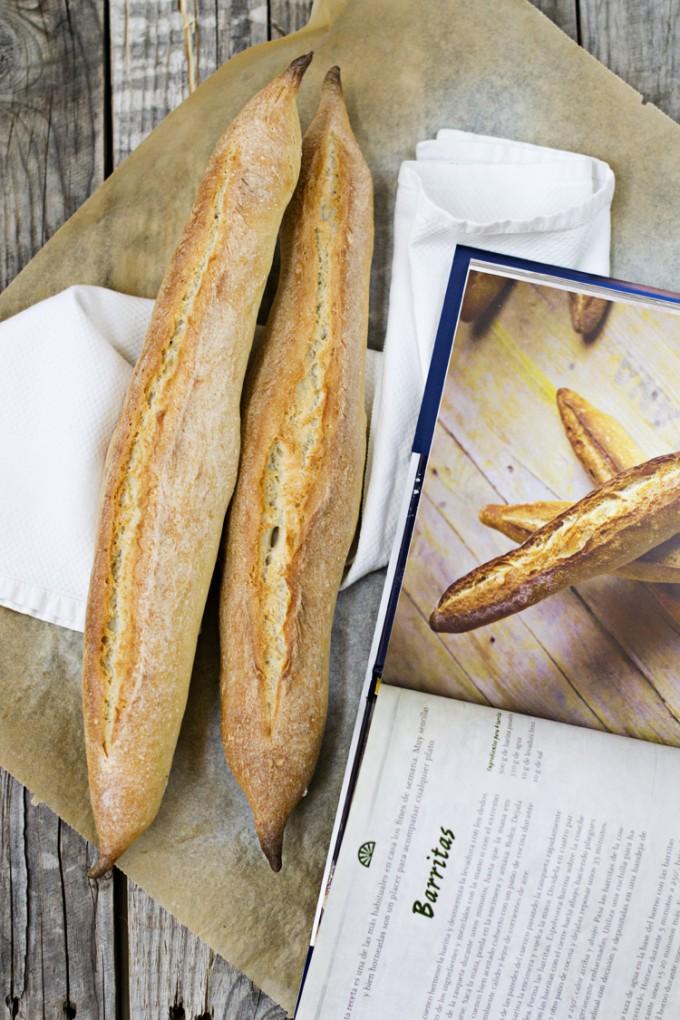 pan con webos fritos barritas