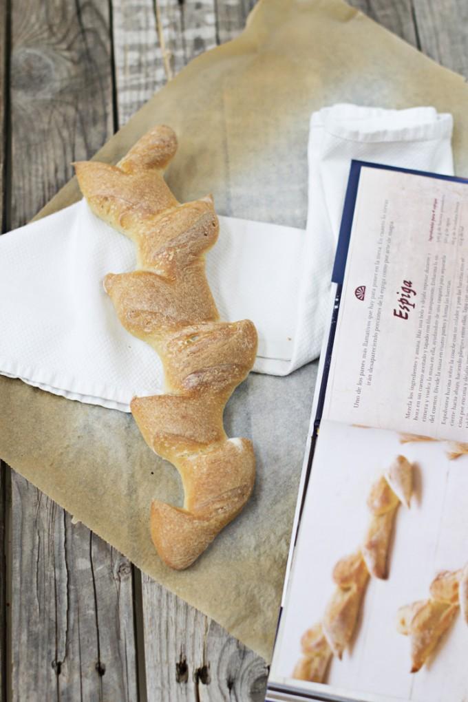 pan con webos fritos espigas