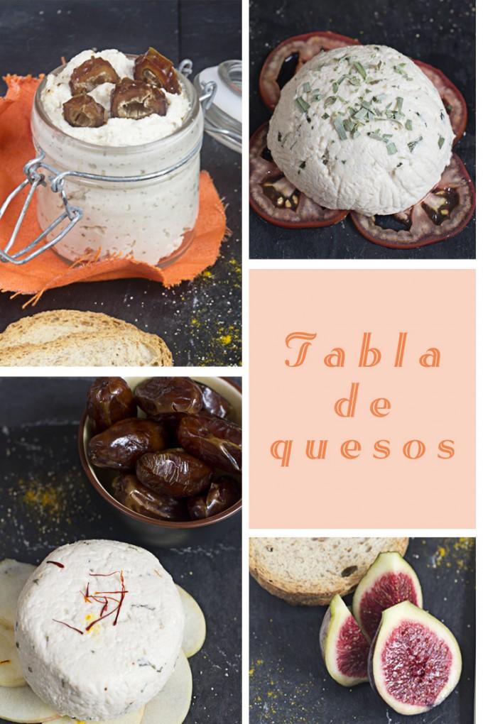 tabla de quesos collage