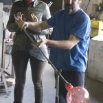 Presentación de la Vajilla CatMan de vídrio artesanal en Lafiore