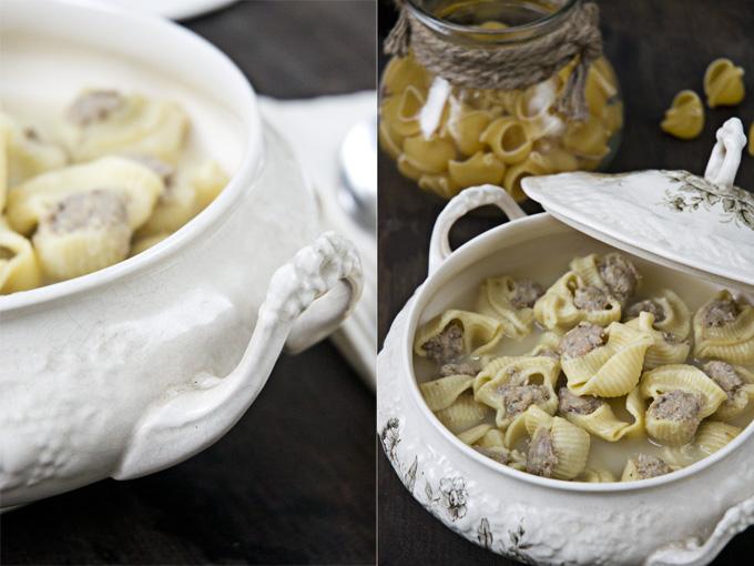 sopa de navidad collage
