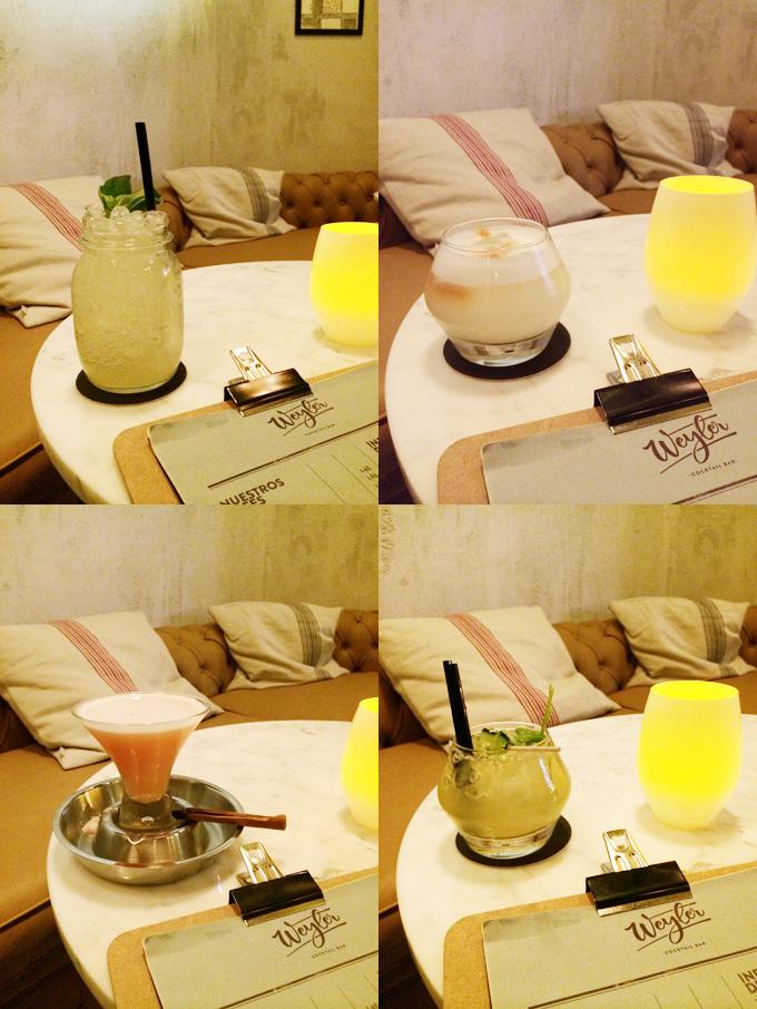 weyler cocktails
