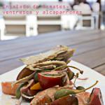 Ensalada de tomates y ventresca de atún