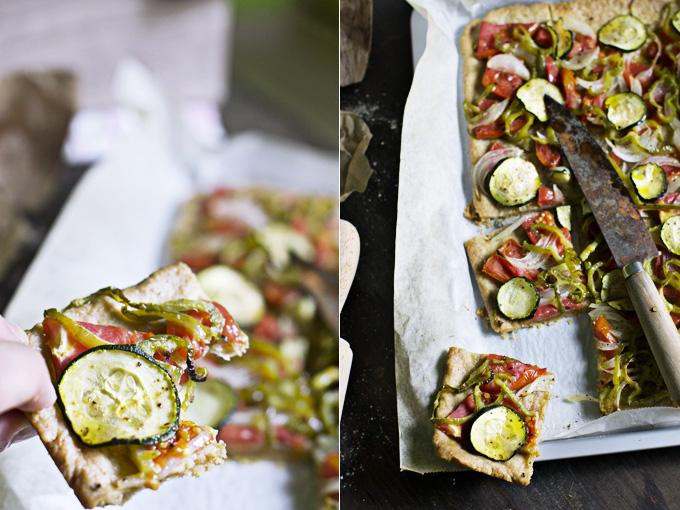 coca de verduras y xeixa collage 1