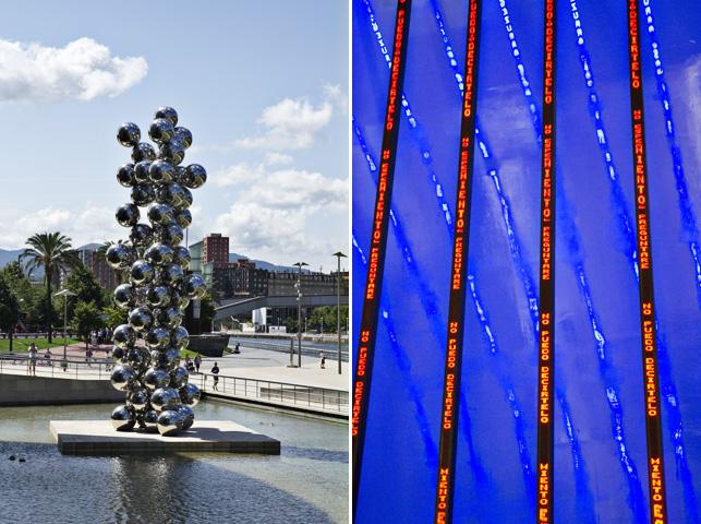 Bilbao esculturas