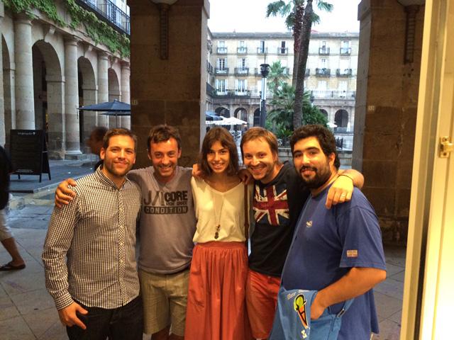 Bilbao foto familia