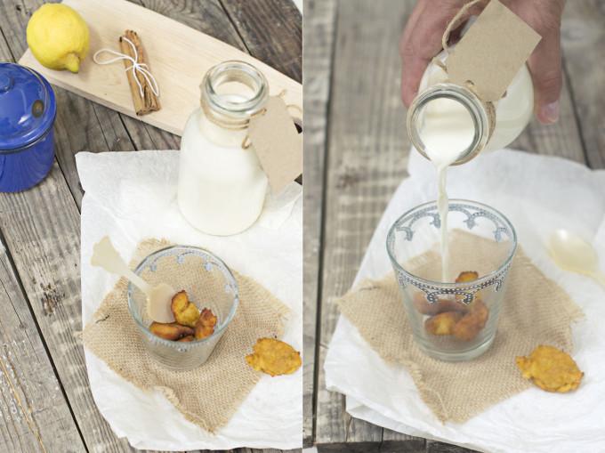 receta de panecillos con leche preparada