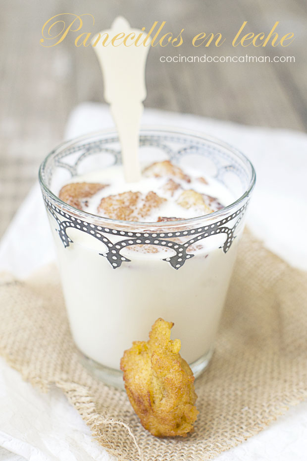 receta de panecillos en leche preparada