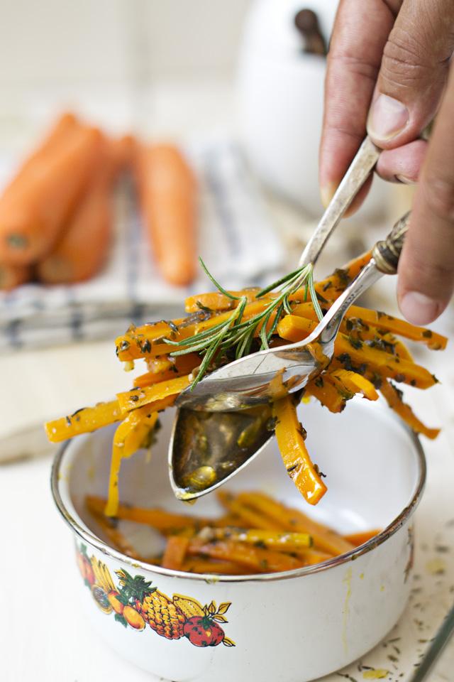 zanahorias a la griga