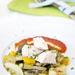 salteado de verduras con pollo al natural portada 150x150 Moussaká Griega. Receta Thermomix