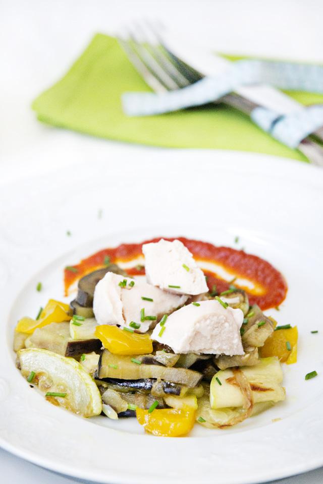 salteado de verduras con pollo al natural portada