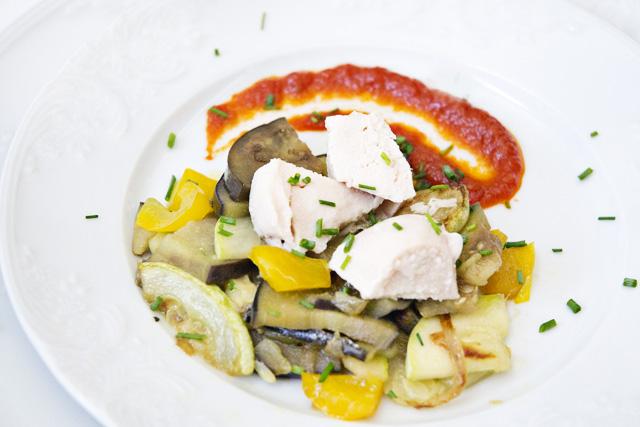 receta de salteado de verduras