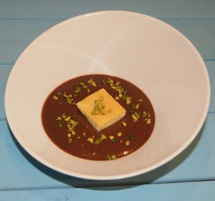 receta de blondie o brownie de chocolate blanco