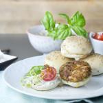 Hamburguesas veganas, receta con Celia Lastres