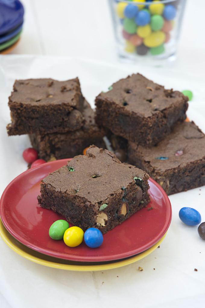 brownie m&m