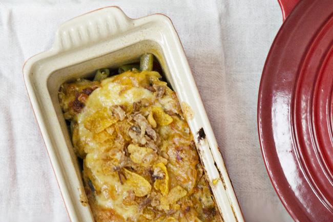 receta de green beans casserole