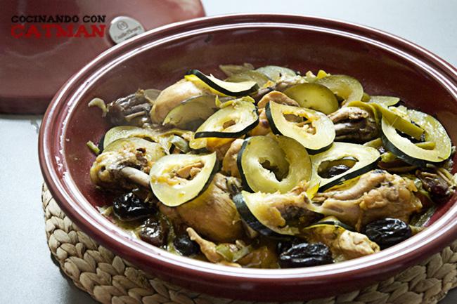 receta de tajine de pollo con verduras
