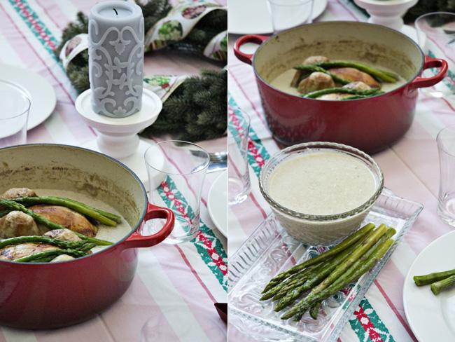receta de picantones en salsa