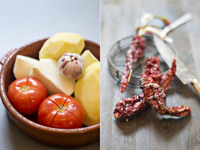 ingredientes del tiznao manchego