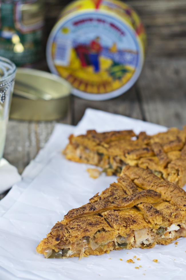 receta de como hacer empanada gallega de atun