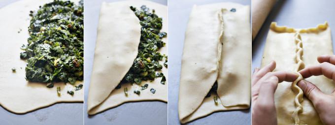 como hacer espinagada