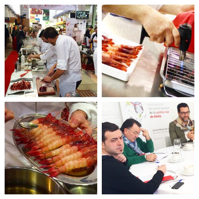 IV concurso internacional de cocina creativa con Gamba Roja de Dénia