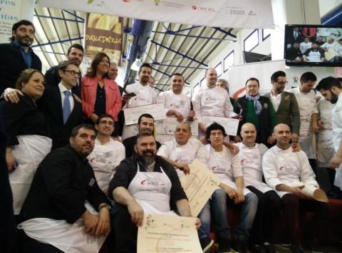 IV concurso internacional de cocina creatiuva con Gamba Roja de Dénia