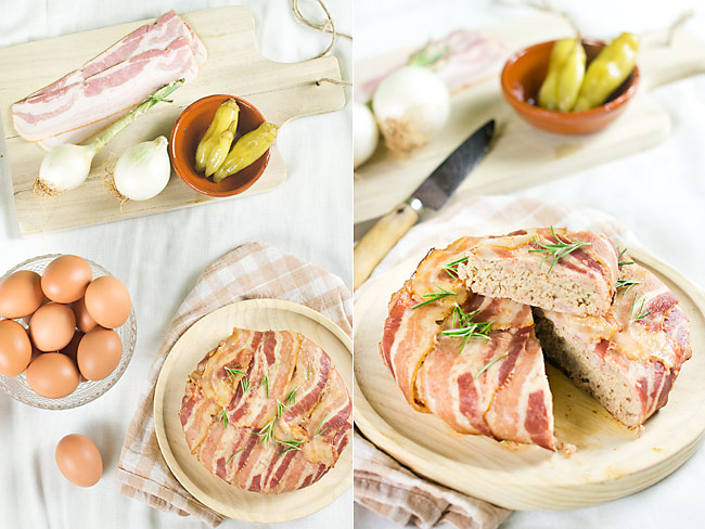 receta de meat loaf o pastel de carne americano