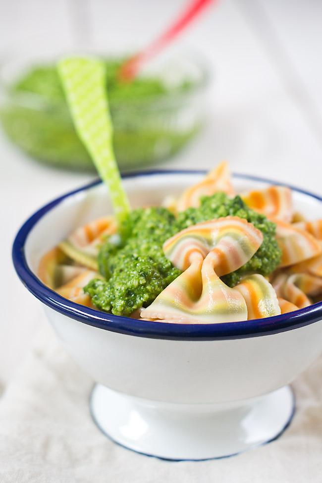 receta de pesto de espinacas y nueces casero