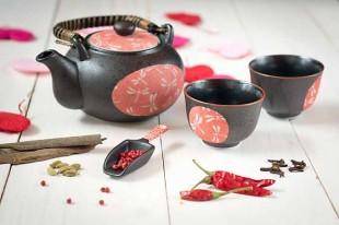 té rojo de san valentín