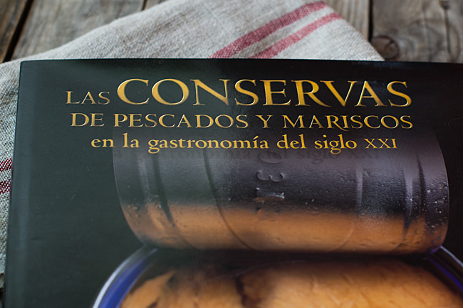 libro de cocina, las conservas de pescado y maríscos en la gastronomía del siglo XXI