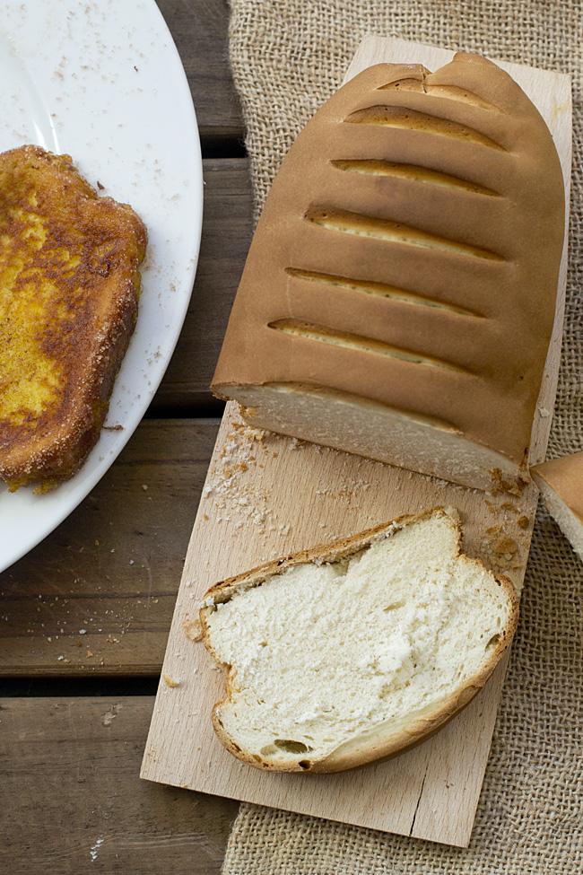 pan para torrijas, cómo se hace