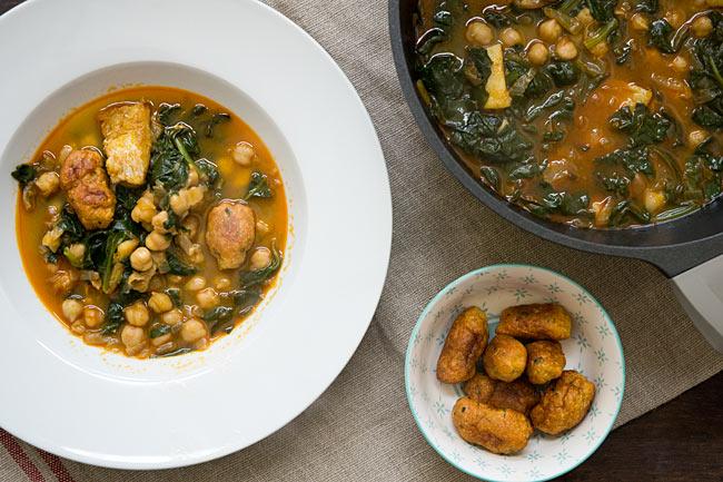 receta de cómo hacer potaje de cuaresma o potaje de semana santa