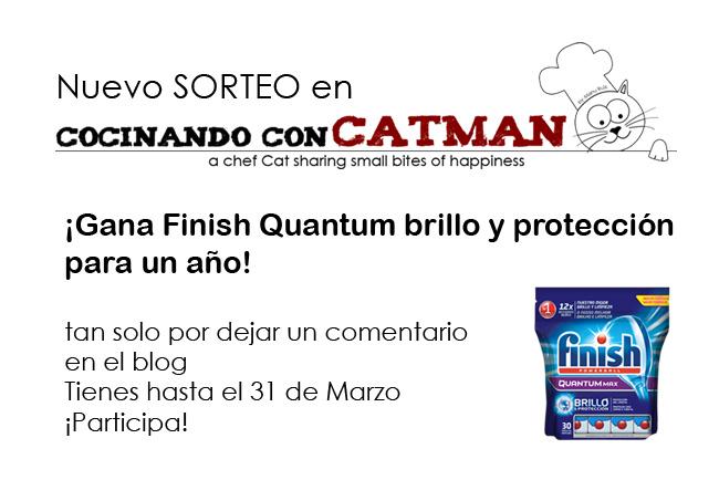 sorteo finish quantum brillo y protección