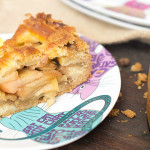 Receta tarta de manzana holandesa