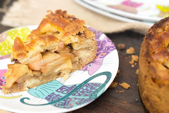 receta de tarta de manzana holandesa
